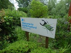 RSPB Wildlife Garden Flatford Mill