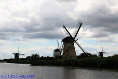 Holanda - moinhos