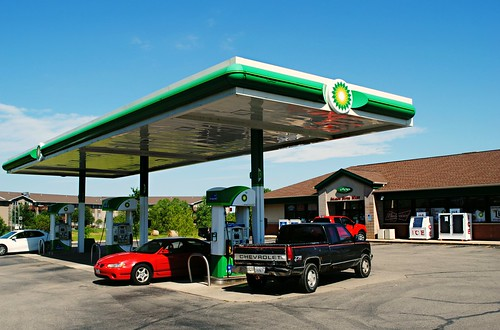 BP Station - Sharon, Wisconsin