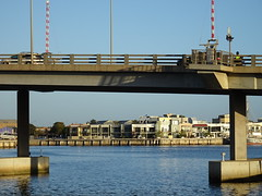 Under a Port Adelaide Bridge