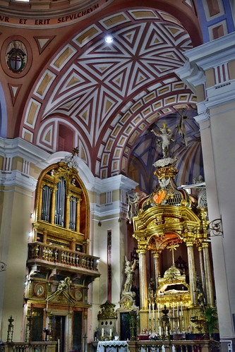 Interior de la colegiata del Santo Sepulcro (Calatayud)