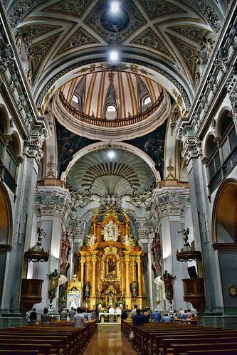 Interior de la iglesia de San Juan el Real (Calatayud)