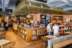 Interior of UCC Coffee Shop in Bacolod