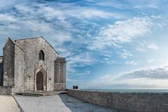 Eglise Sainte-Radegonde, Talmont-sur-Gironde, Charente-Maritime, France