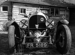 FR5189 . The first supercharged Bentley.