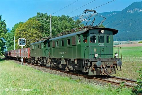 Doppeltraktion Be 4/4 bei Lommiswil, P7279015-3