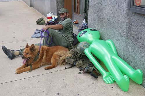 Soldier, Dog & Alien