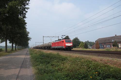 DB cargo 189 081 te Horst Sevenum