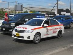 Jamaica Constabulary Force Toyota Corolla Axio