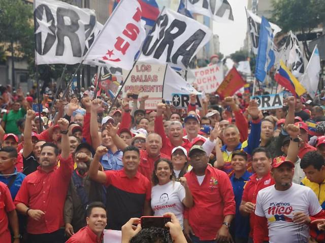 As atividades do 25º Foro de São Paulo ocorre entre os dias 25 a 28 de julho em Caracas, na Venezuela. - Créditos: PSUV