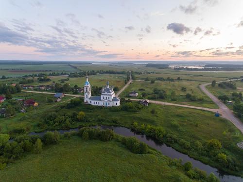 Village Savinskoe, Russia