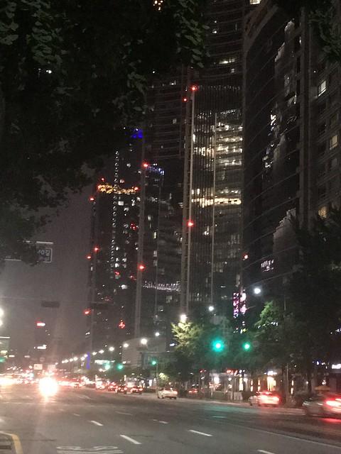 28/07/2019 dans le centre de Séoul