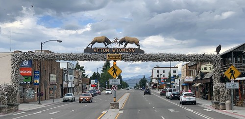 Worlds Largest Antler Arch