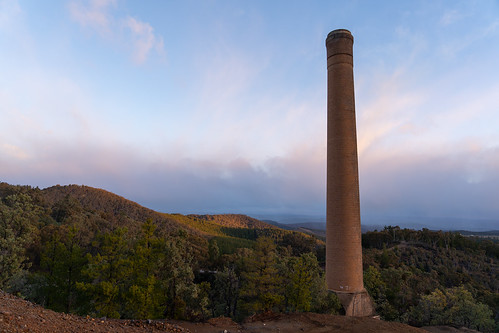 Burraga Mine Chimney