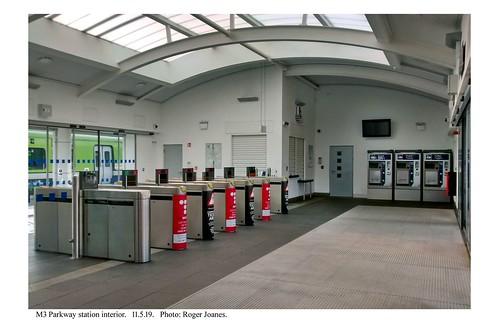 M3 Parkway. Station interior. 11.5.19