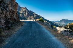 Canyon du Baracci mit Col de SIo