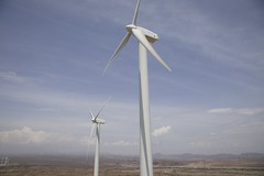 Wind farm, Lake Turkana, Kenya