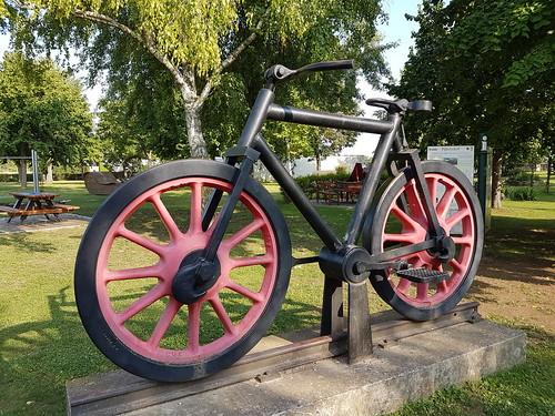 Fahrrad in Pillichsdorf