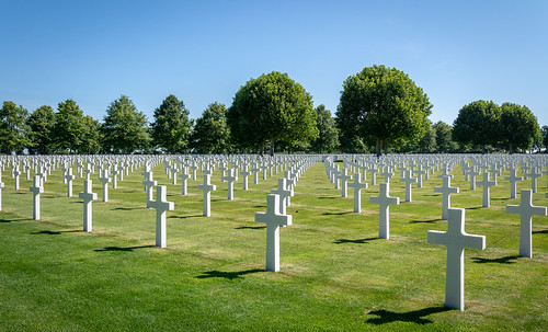 Margraten, American Military Cemetery WWII - Netherlands