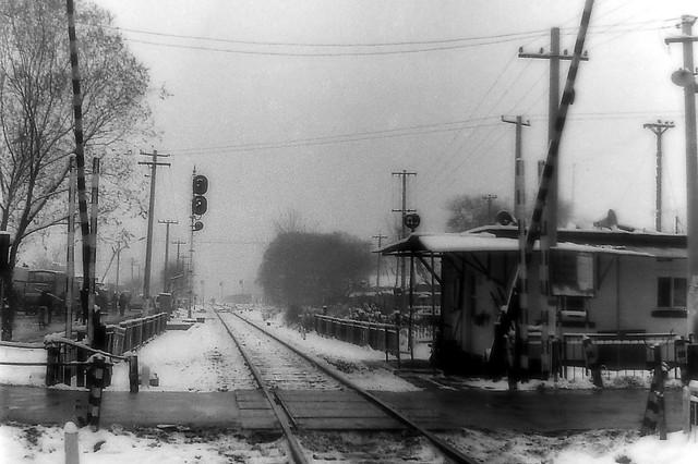 Railway Crossing (80s, Beijing)