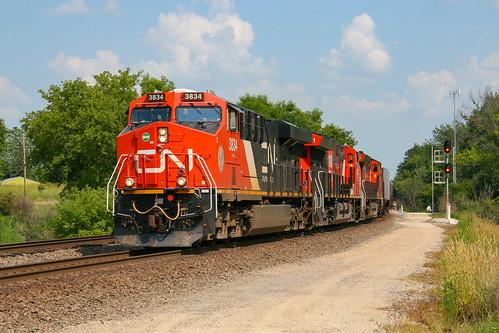 CN U261 at Ackerville