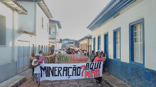Advogado denuncia ainda que, desde o começo do processo, a mineradora tem tentado inibir as mobilizações contra o empreendimento - Créditos: Foto: Reprodução/MAM