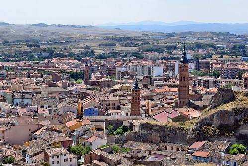 Vista desde el castillo (Calatayud)
