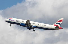EGLL - Airbus A321-231 - British Airways - G-MEDG