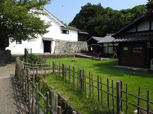 Takita family yard and fence