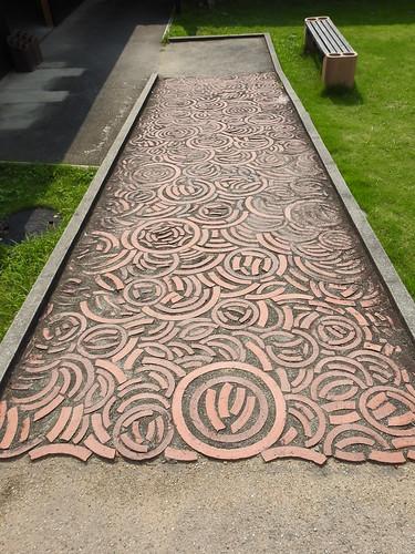 Takita family potsherd walkway
