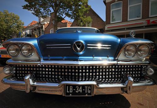 1958 Buick Special 4-door Riviera - Model 43