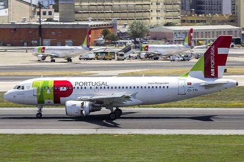 CS-TTL | TAP Air Portugal | Airbus A319-111 | CN 1100 | Built 1999 | LIS/LPPT 01/05/2018