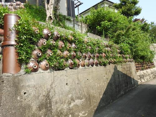 Ceramic jug wall