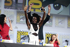 Angela Kang, Danai Gurira, Jeffrey Dean Morgan & Cailey Fleming