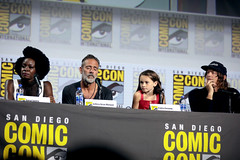 Danai Gurira, Jeffrey Dean Morgan, Cailey Fleming & Norman Reedus