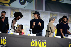 Jeffrey Dean Morgan, Danai Gurira, Cailey Fleming, Norman Reedus, Melissa McBride & Avi Nash
