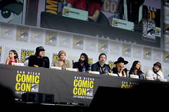 Cailey Fleming, Norman Reedus, Melissa McBride, Avi Nash, Ryan Hurst, Nadia Hilker, Eleanor Matsuura & Cooper Andrews