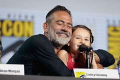 Jeffrey Dean Morgan & Cailey Fleming