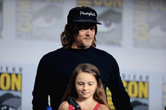 Norman Reedus & Cailey Fleming