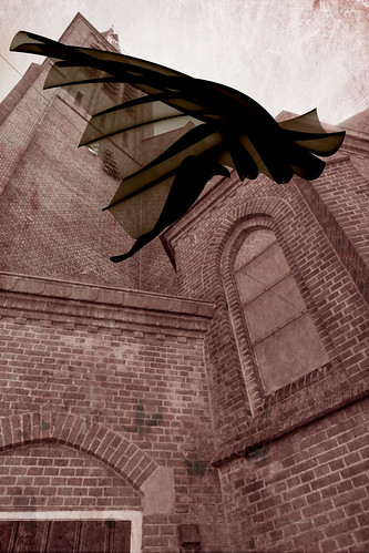The Story Of The Bat Passing The Church