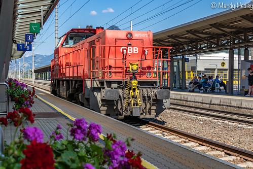 Local train at Jenbach Station,  Austria