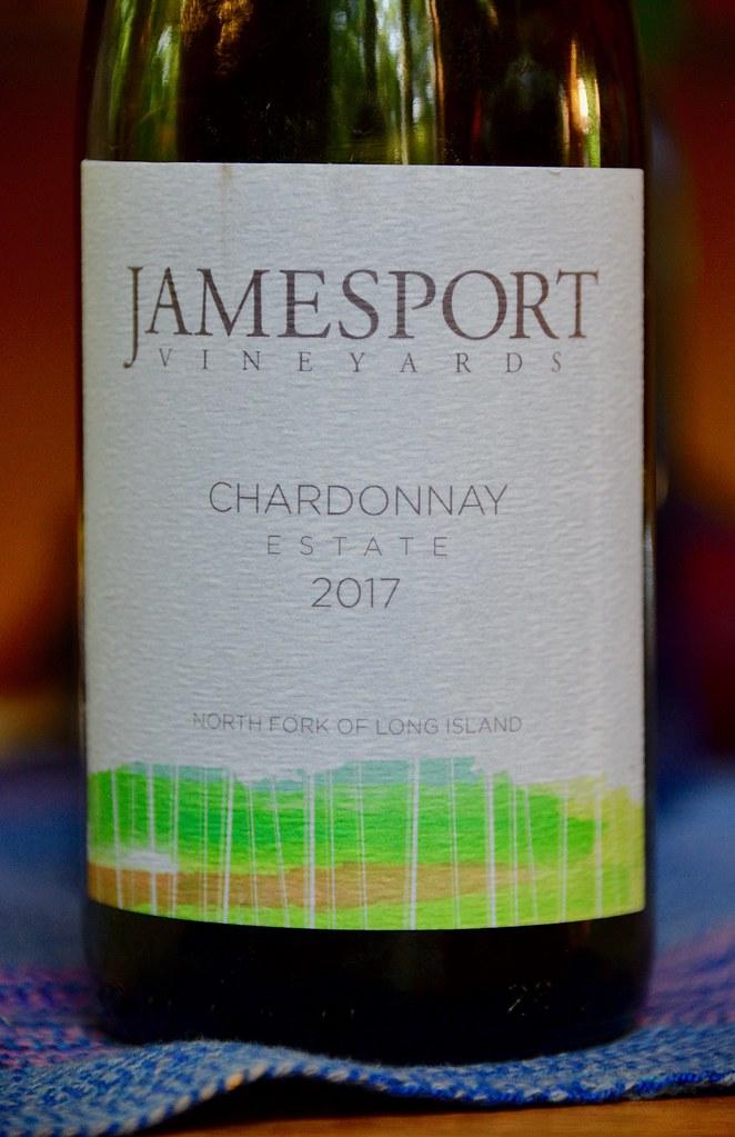 Jamesport Vineyards Estate Chardonnay 2017 - Download Photo