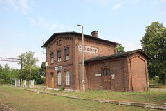 Łąkociny train station
