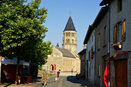 Street and bell tower