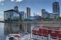 Media City UK at Salford Quays, Manchester