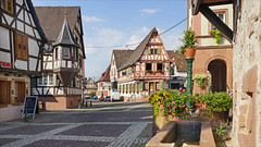 Oberbronn, village alsacien des Vosges du nord. - Photo of Engwiller