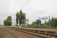 Gorzupia train station