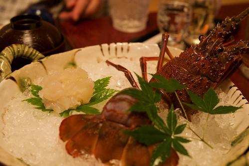 Sashimi of Lobster