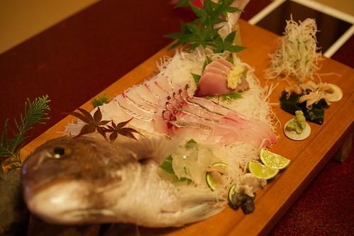 Sashimi 活造り