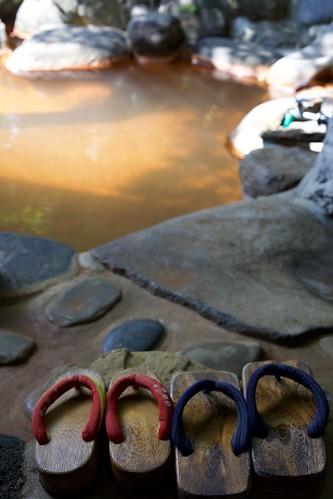 Geta and hot spring